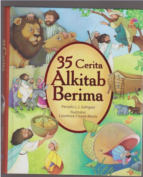 35 Cerita Alkitab Berima : The Rhyme Bible Story Book